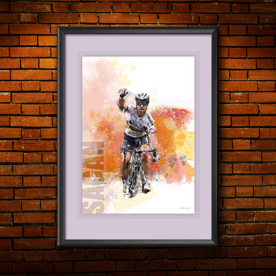 Peter Sagan Art Print 1