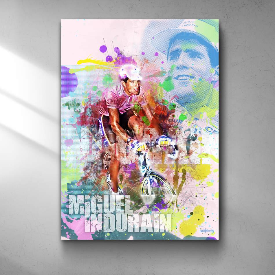 Miguel Indurain Art Print 1