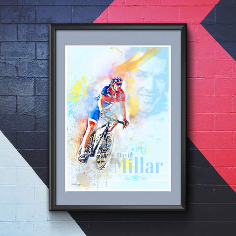 David Millar Art Print 1