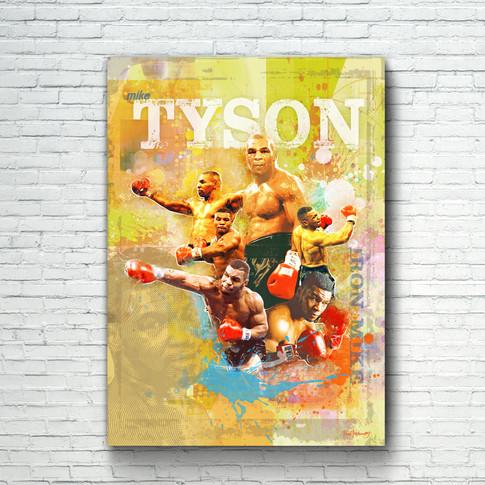 Mike Tyson Art Print 7