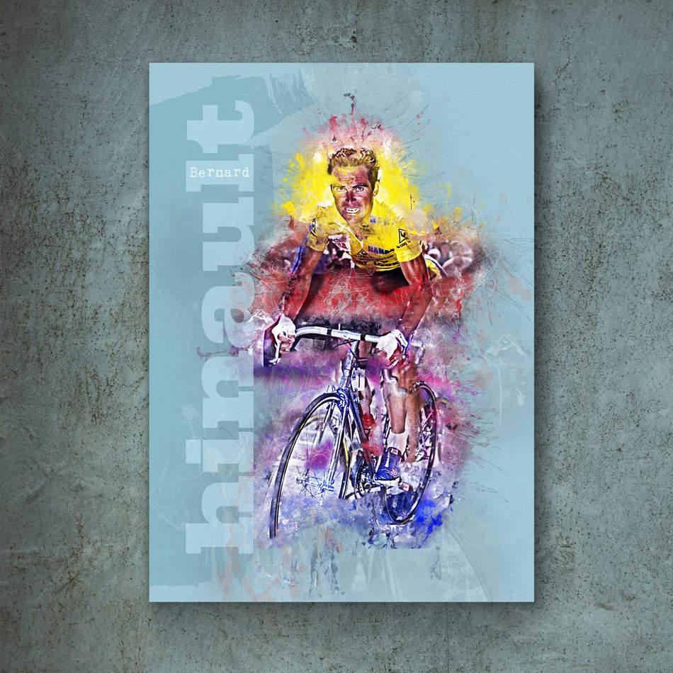 Bernard Hinault Art Print 1