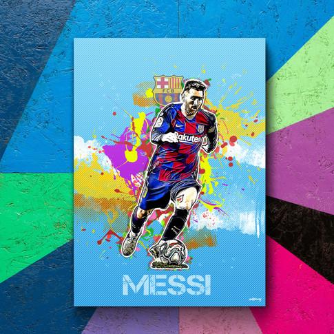 Lionel Messi Art Print 3