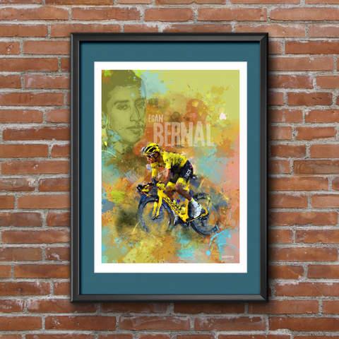 Egan Bernal Art Print