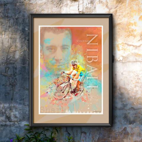 Vincenzo Nibali Art Print