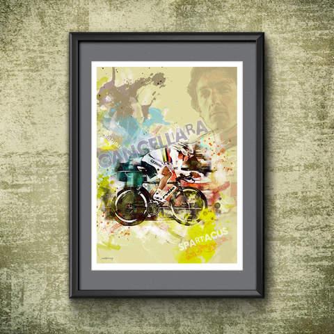 Fabien Cancellara Art Print