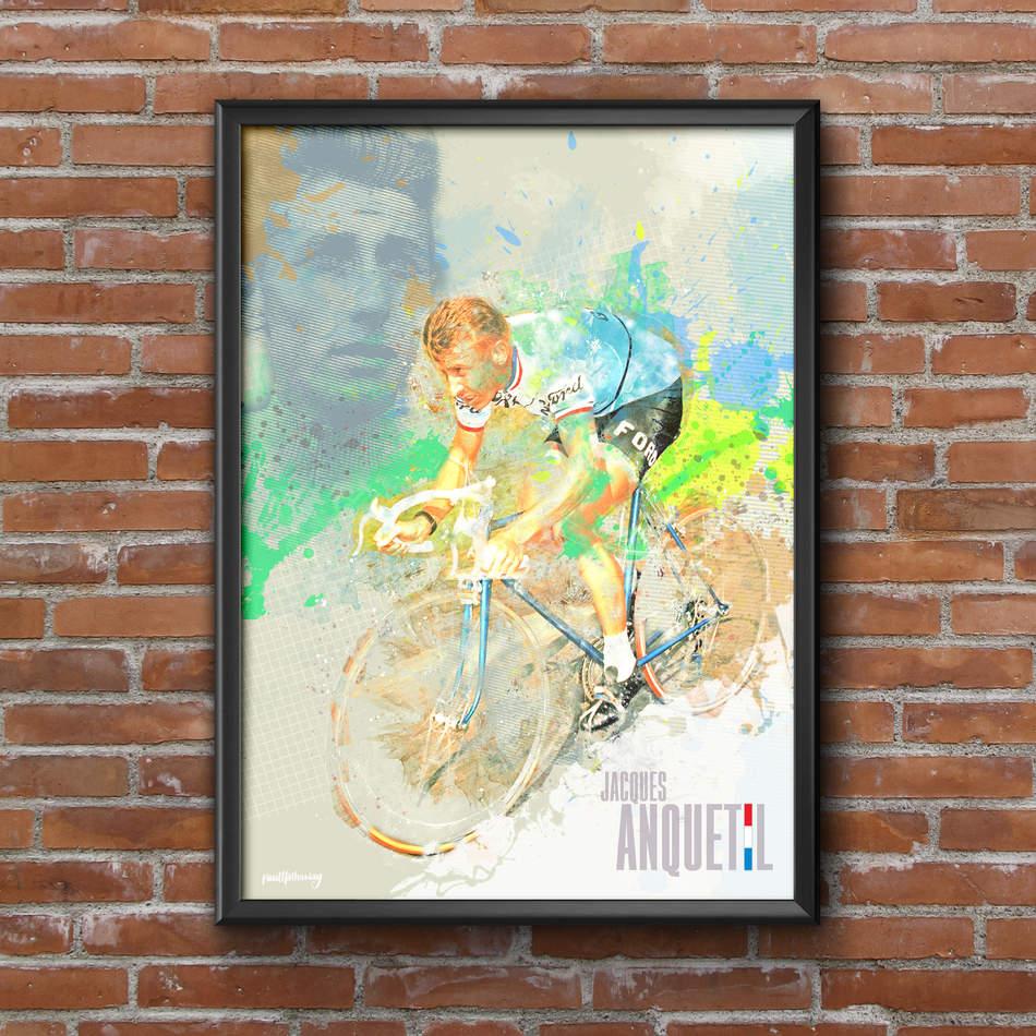 Jaques Anquetil Art Print 1