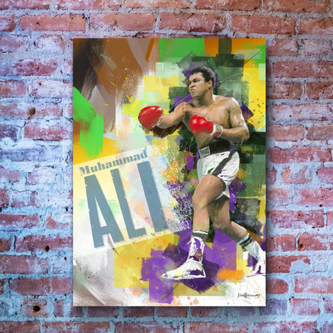 Muhammad Ali Art Print 1
