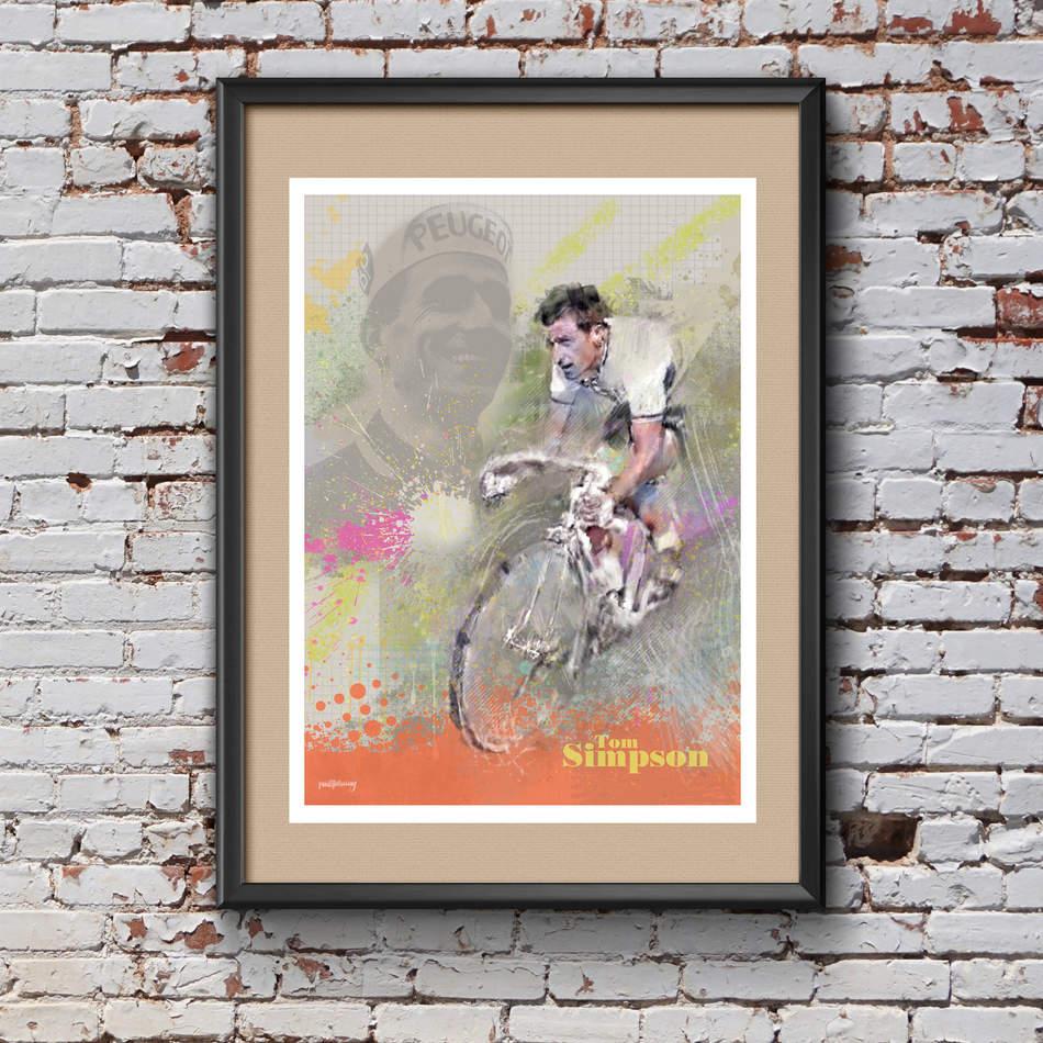 Tom Simpson Art Print 2