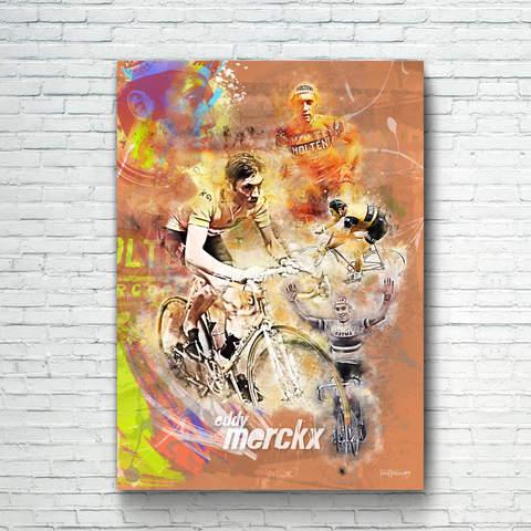 Eddy Merckx Art Print 2