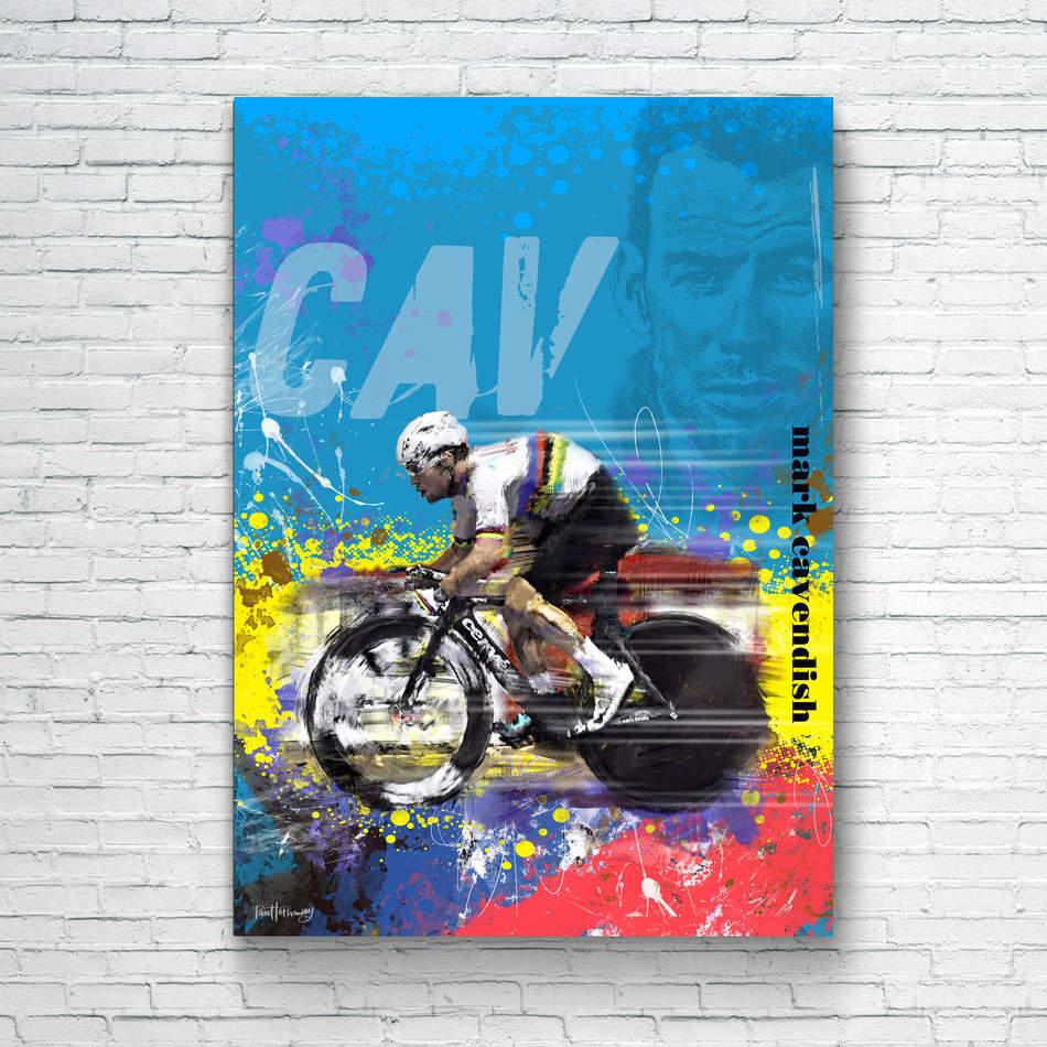 Mark Cavendish - Art Print 2