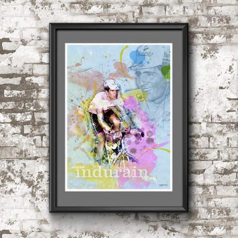 Miguel Indurain Art Print 2