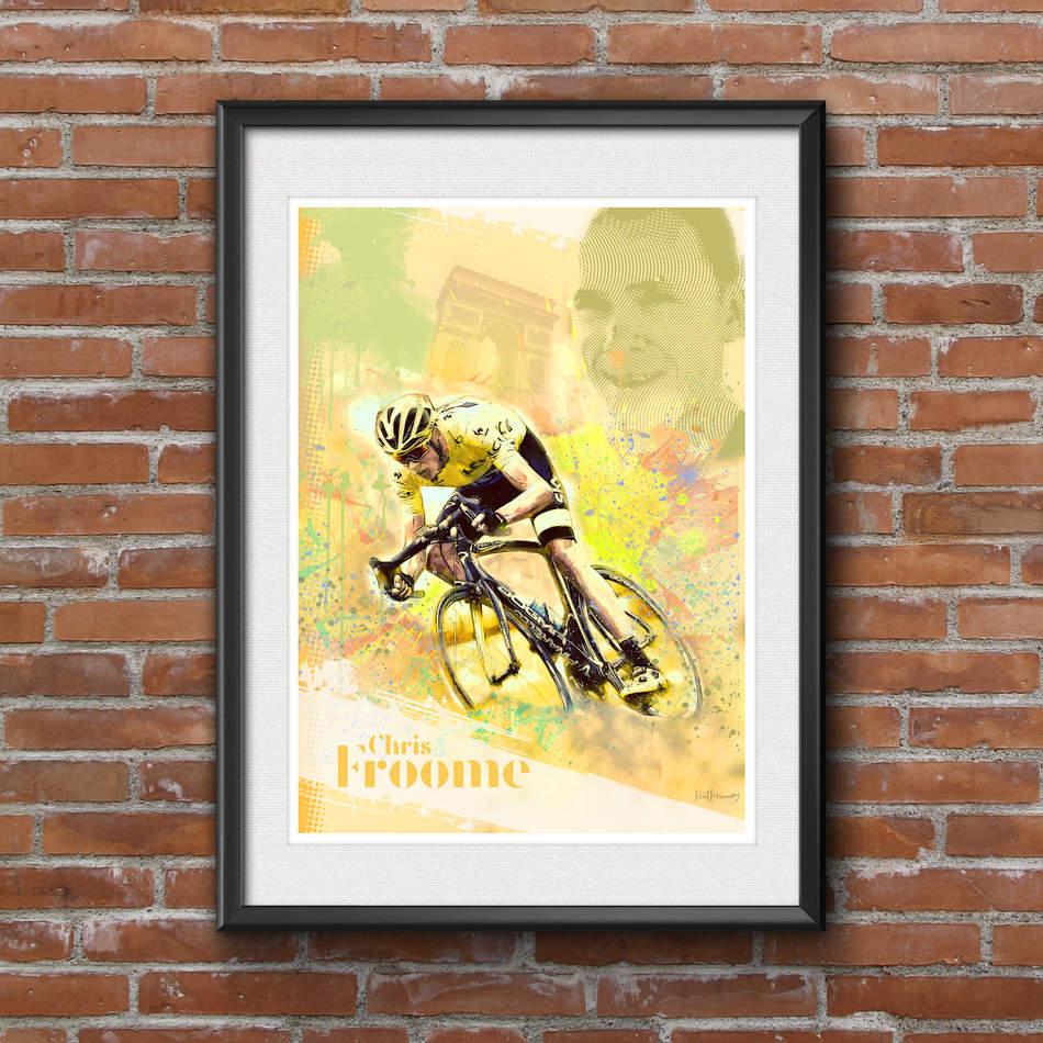 Chris Froome - Art Print 1