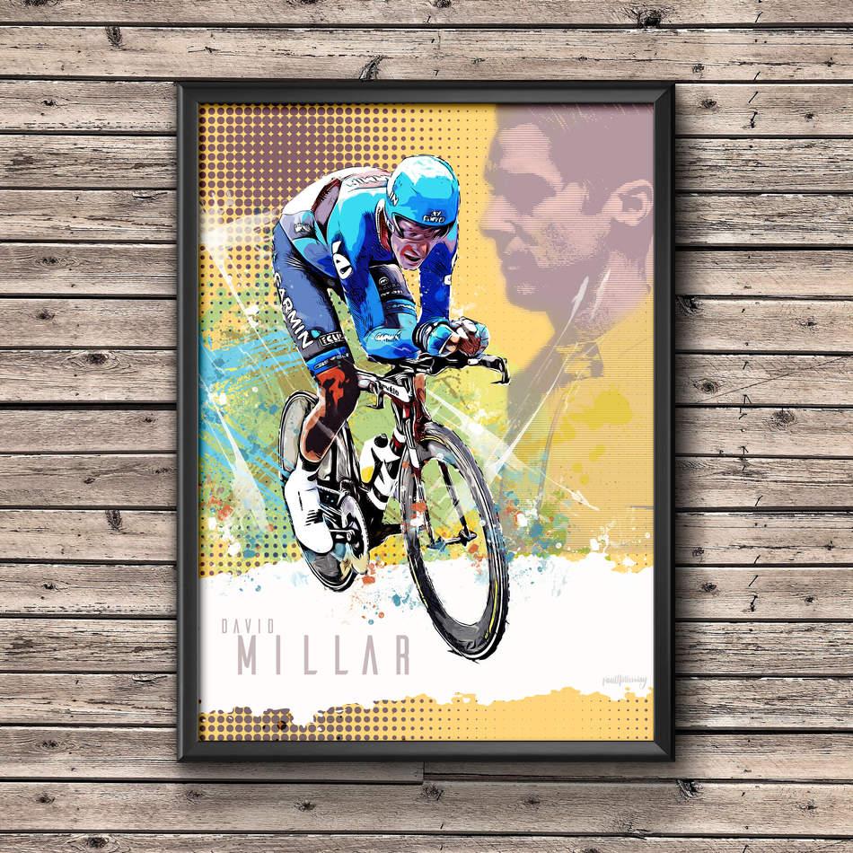 David Millar Art Print 2