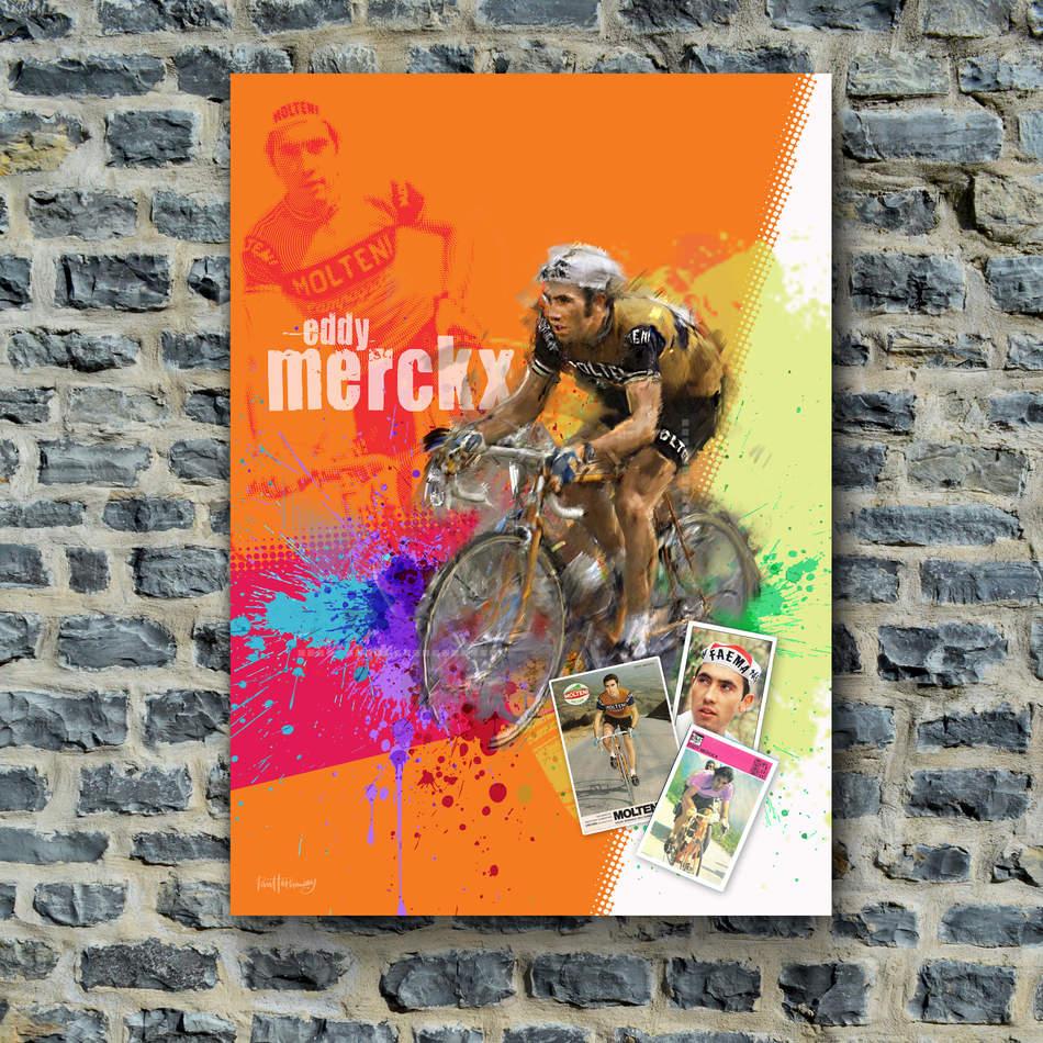 Eddy Merckx Art Print 1