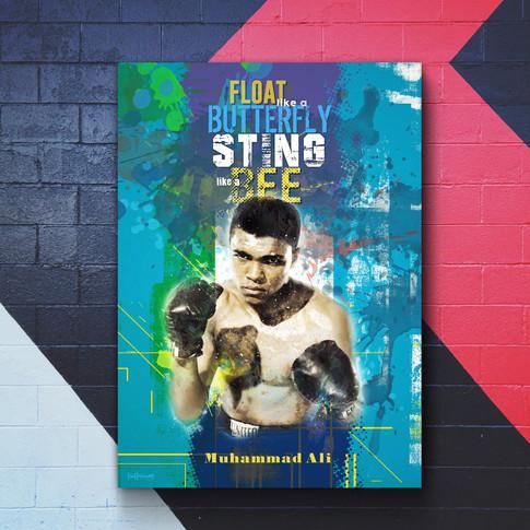 Muhammad Ali Art Print 3