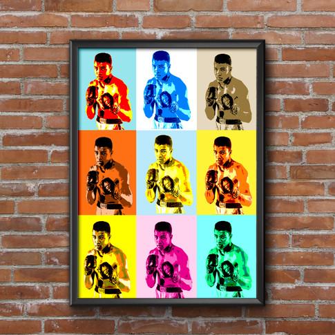 Muhammad Ali Art Print 2