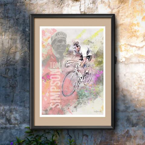 Tom Simpson Art Print 1
