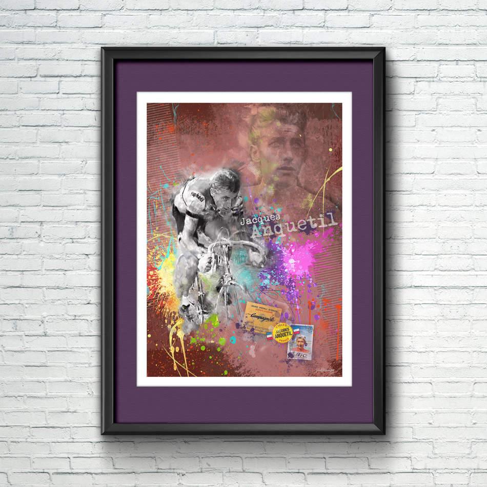 Jaques Anquetil Art Print 2