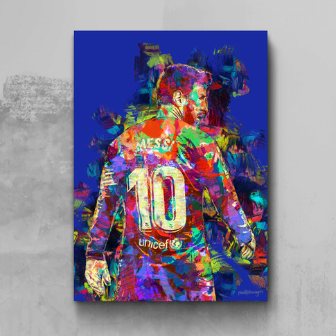 Lionel Messi Art Print 4