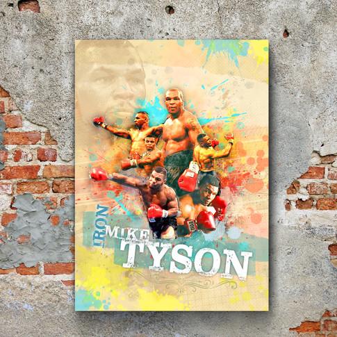 Mike Tyson Art Print 5