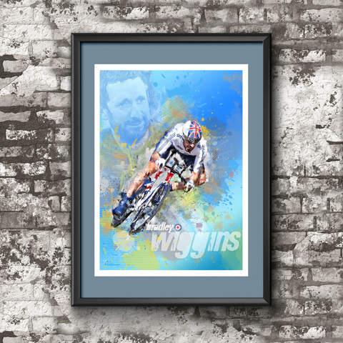 Bradley Wiggins - Art Print 1