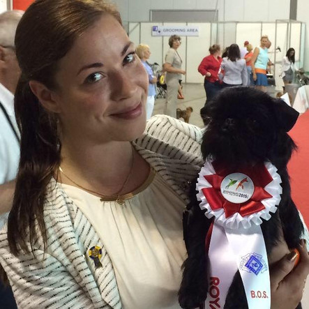 BOS at the Club-World Dog Show!