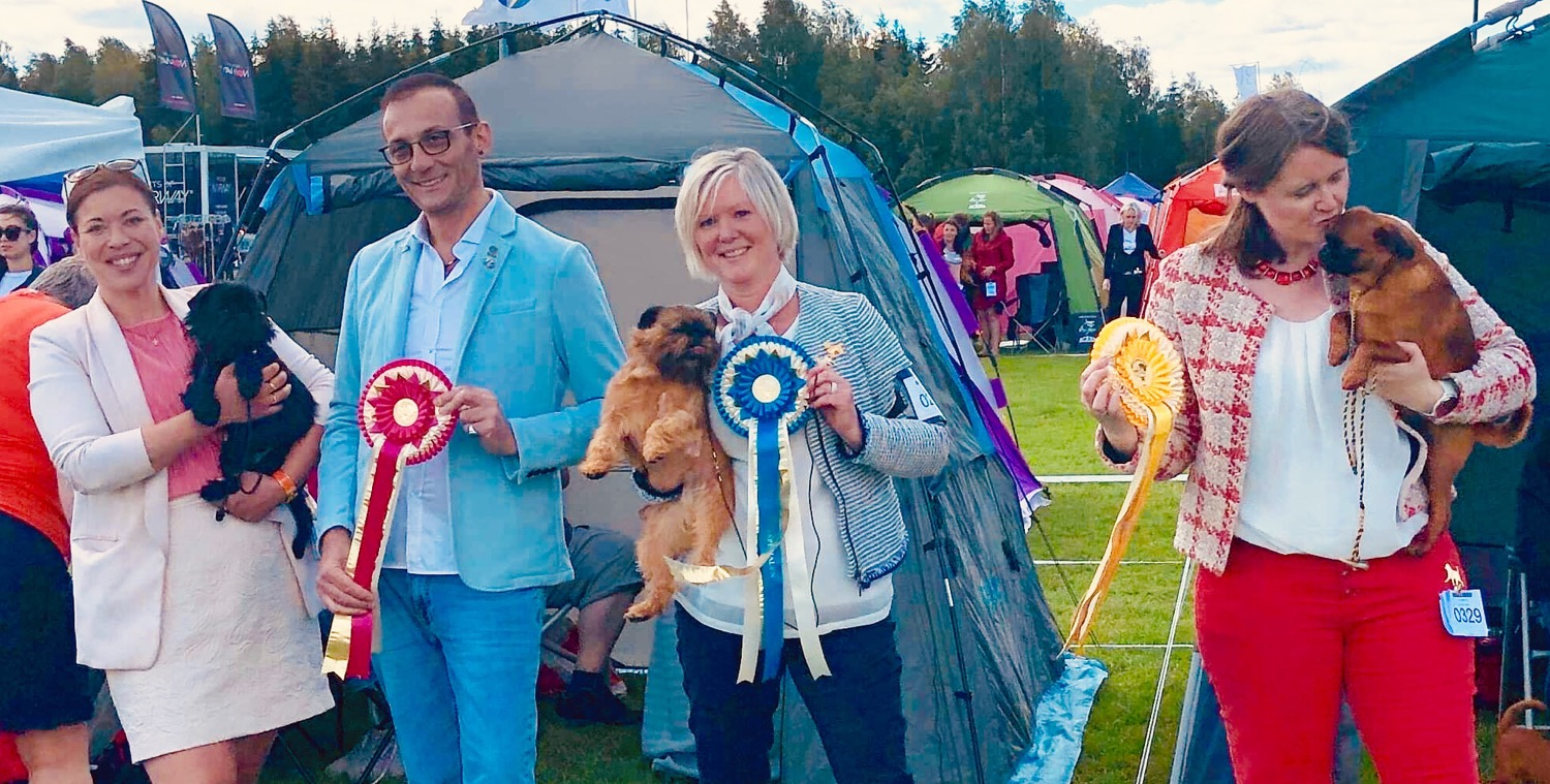 BISS Norweigan Griffon specialty show 20