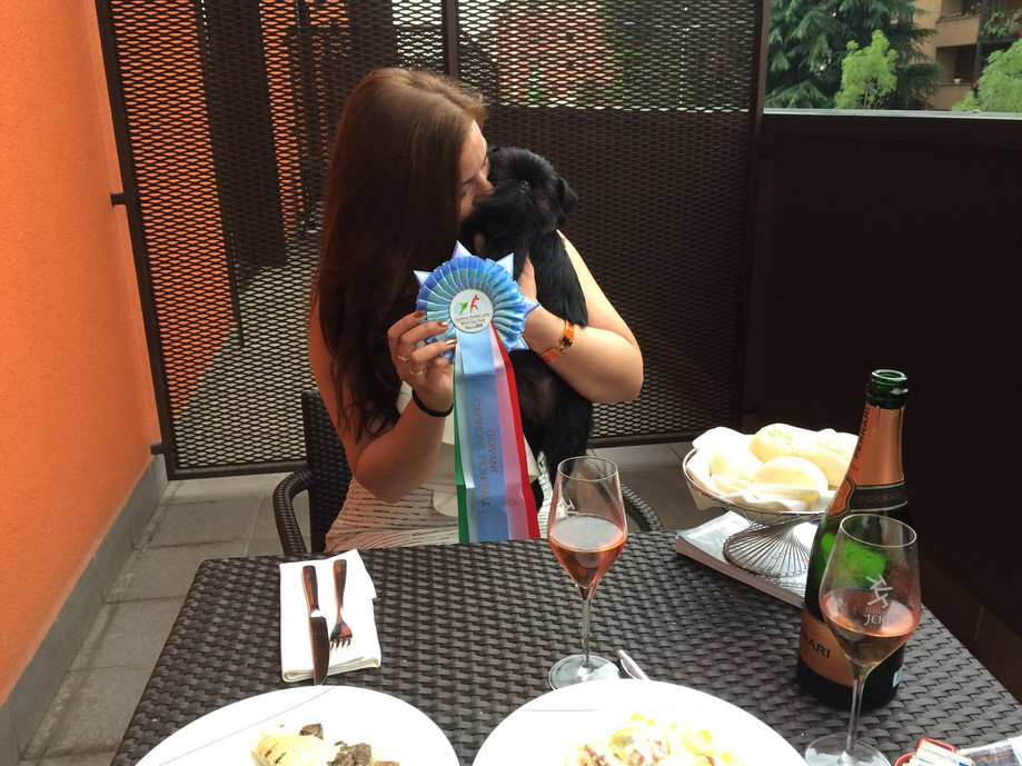 World junior winner 2015!