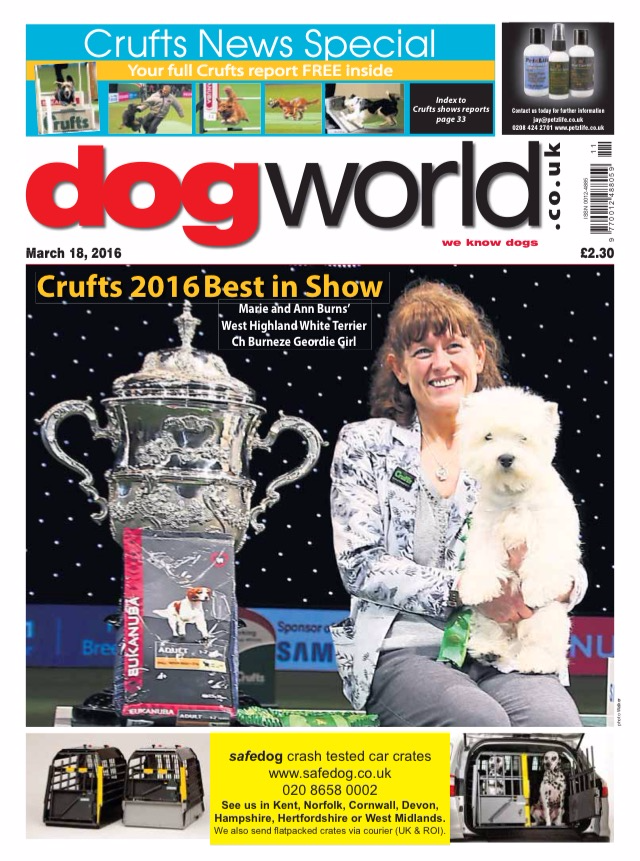 DogWorld Crufts special