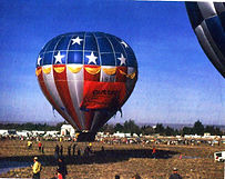 First Albuquerque Balloon Fiesta