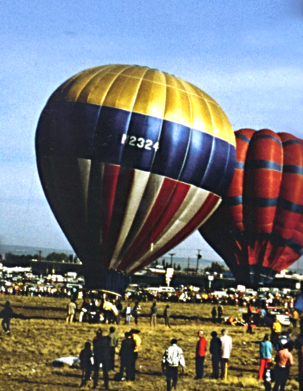 First Balloon Fiesta, 1972