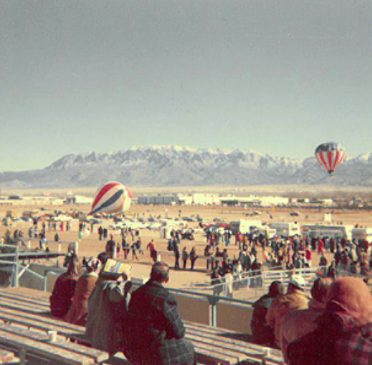 Photo from the grandstands, 1973