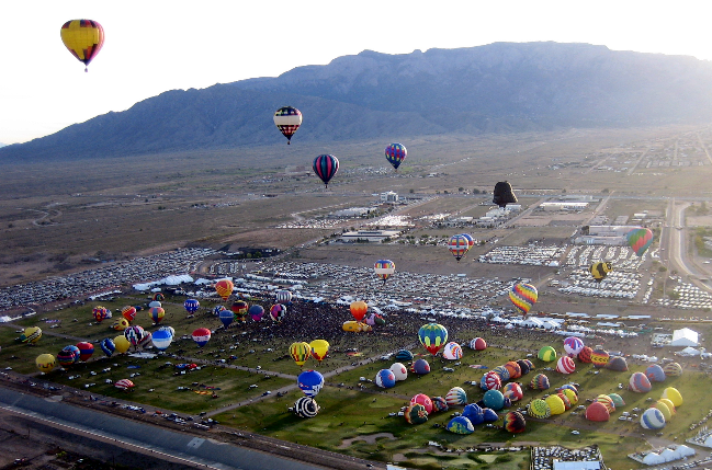 Balloon Fiesta, 2008