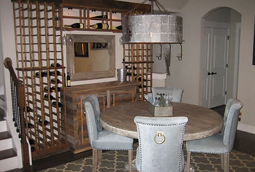 Barn-wood, custom made furnishigs