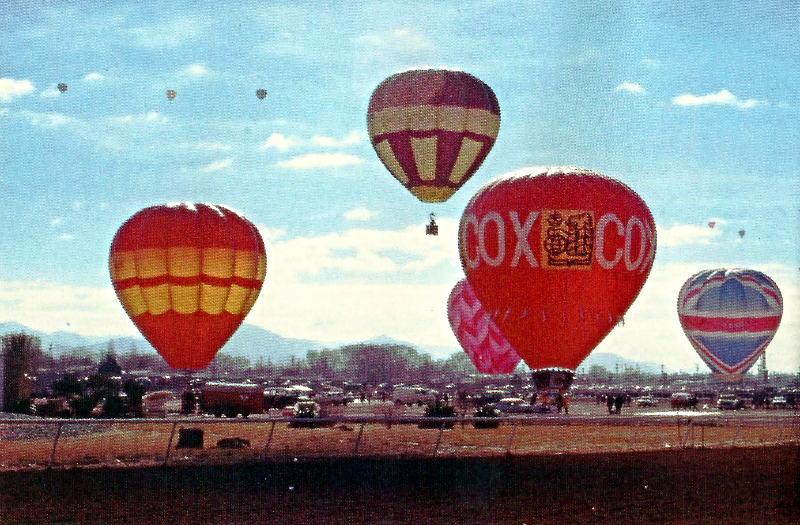 Balloon Fiesta, 1973
