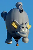 The Big Black Bird features the Dr. Seuss inspred Elephant Special Shape Hot Air Balloon