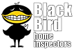 BLACK BIRD HOME INSPECTORS LOGO LOCK UP