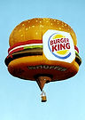The Big Black Bird features the Burger King Whopper Special Shape Hot Air Balloon