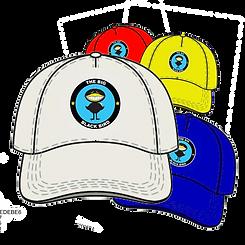 BLACK BIRD CIRCULAR LOGO CAP MULTIPLES.p