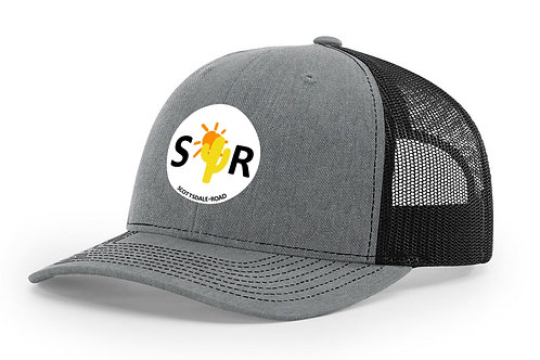 SR Logoed Hat - Mesh Back White Cir