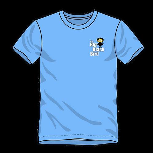 """Big Black Bird"" Embroidered, Short Sleeve T-Shirt"