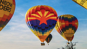 What's the Best Way to Get High in Scottsdale? A Hot Air Balloon Flight, of Course - It's Hot!