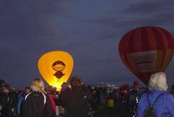 Balloon Fiesta Krispy Glow Black Bird 2010