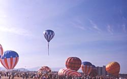 First Balloon Fiesta, 1972