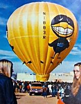the Big Black Bird Hot Air Balloon www.thebigblackbird.com
