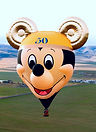 The Big Black Bird features one of several the Disney/Mickey Mouse Special Shape Hot Air Balloon