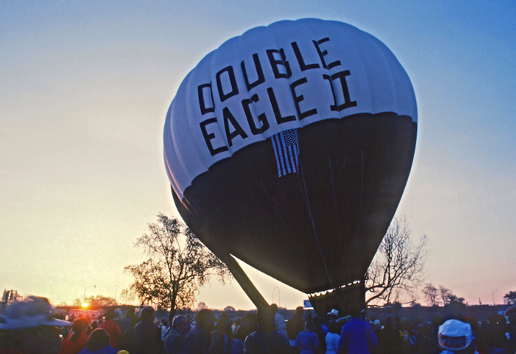 Double Eagle II replica, 1980