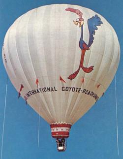 Roadrunner balloon 1973