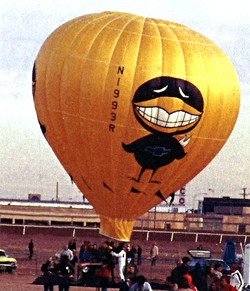 Smiley at the NM Fairgrounds, 1974
