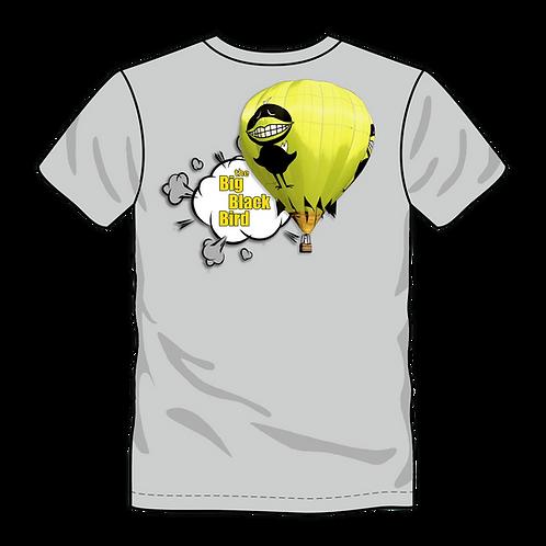 """Big Black Bird"" Short Sleeve T-Shirt; 2019 Balloon Fiesta Edition"